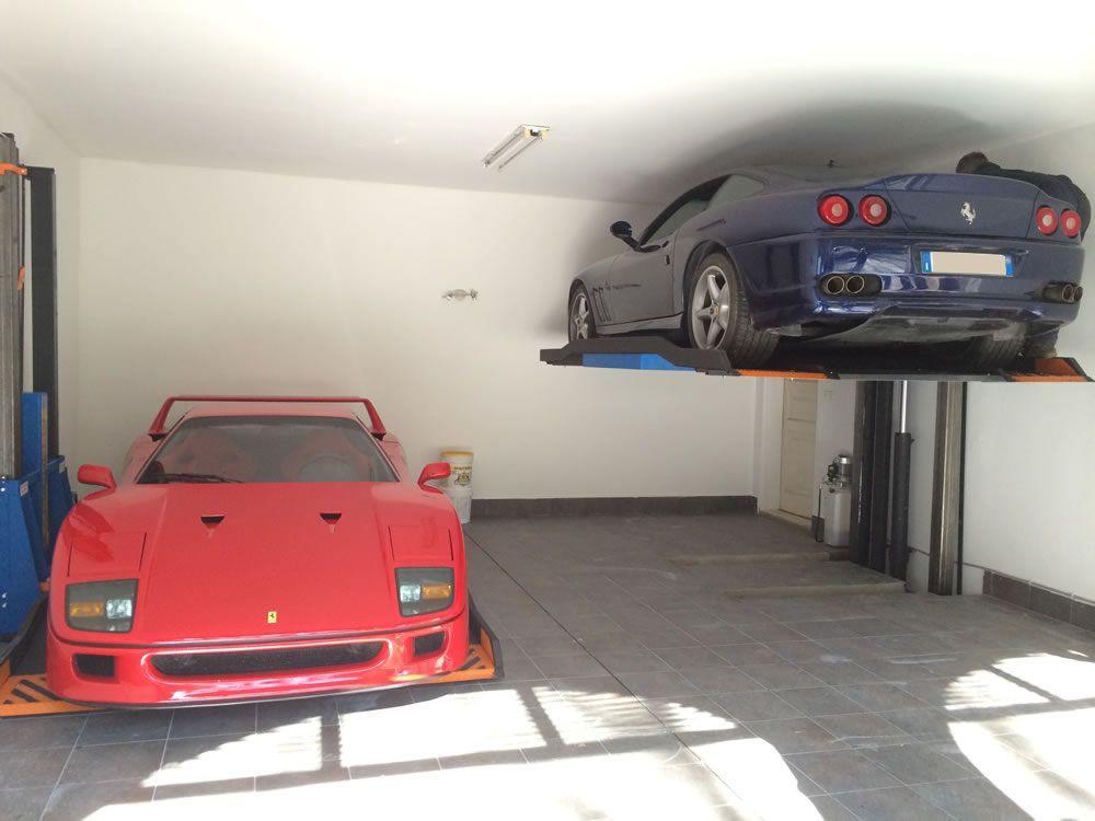 duplicatore parallelo di parcheggio